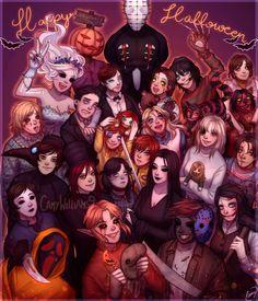 Creepypastas - Happy Halloween 2020! - by CamyWilliams9 on DeviantArt
