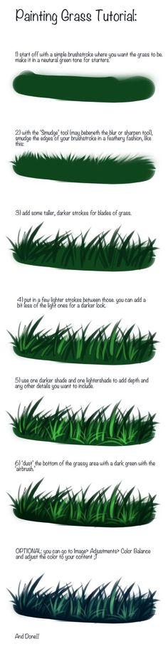 [grass tutorial] by [denovember]