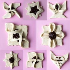 Joulutorttumalleja Christmas Is Coming, Christmas Goodies, Christmas Desserts, Christmas Baking, Christmas Diy, Xmas, Bree Van De Kamp, Appetizer Recipes, Snack Recipes
