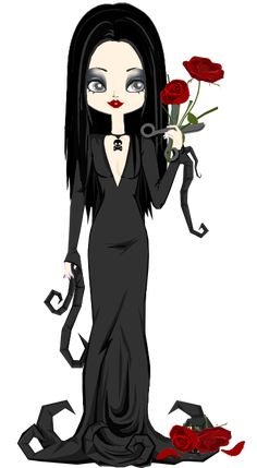 Morticia Addams by marasop. on halloween morticia Morticia Addams, Gomez And Morticia, The New Yorker, Adams Family, Family Tv, Witch Tattoo, Goth Art, Creepy Art, Holiday Pictures