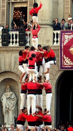 4de8a. Castellers de Barcelona.