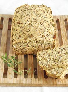 wieloziarnisty chleb bezglutenowy
