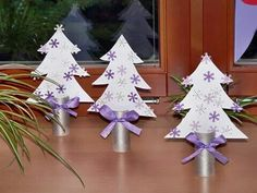 Stromeček Christmas Advent Wreath, Christmas Art, Paper Decorations, Christmas Decorations, Holiday Decor, Diy And Crafts, Crafts For Kids, Toilet Paper Crafts, Christmas Activities For Kids