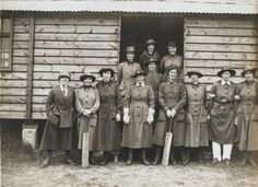 Women serving in the Auxiliary Army during WW1 attracted a mixed reception from the press and public. Some wives and mothers resented their male relatives being sent to danger at the Front to be replaced by women whilst newspapers suggested that improper relations took place between QMAACs and 'Tommies'. This last rumour persisted, despite an investigation and report in March 1918 by Miss Tennyson Jesse, which found that only 21 women had been sent home pregnant in the past year.