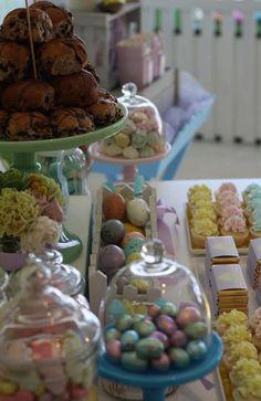 Great Easter dessert table!