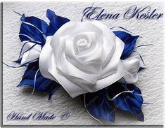 Хотелось бы показать различные виды роз из атласных лент. Здесь представлены украшения на разных основах. Первые два фото - заколки автоматы.  фото 1