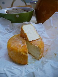 p'tit vache affiné au pommeau - a delicious cow's milk cheese from Normandy