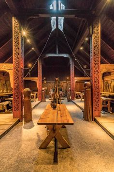 Great Hall Viking Hall, Medieval, Viking Decor, Mead Hall, Viking Village, Viking Designs, Long House, Viking Ship, Norse Vikings
