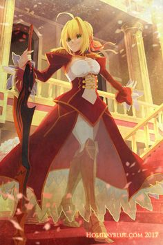 """Full-bleed 11""""x17"""" poster. Actual poster does not have watermark.<br /> Chica Anime Manga, Anime Art, King Gilgamesh, Shinshi Doumei Cross, Arturia Pendragon, Fate Stay Night Anime, Dragon Knight, Fate Anime Series, Cartoon Crossovers"""