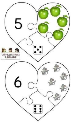 3 Year Old Activities, About Me Activities, Preschool Activities, Numbers Preschool, Preschool Math, In Kindergarten, Visual Perceptual Activities, Diy And Crafts, Crafts For Kids