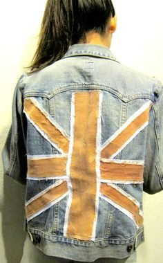 England denim jacket by CasualD on Etsy, $89.00