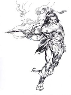 Barbarian by Neal Adams *