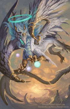 2014 Zodiac Dragons - Virgo by The-SixthLeafClover on deviantART