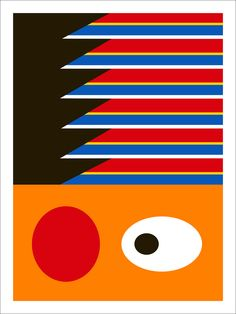 """""""The Streets"""" Ernie poster by Symbol Society."""