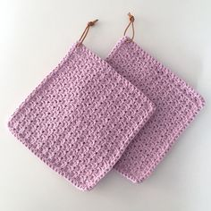 Crochet Potholders, Crochet Yarn, Crochet Hooks, Free Crochet, Bobble Stitch, Chain Stitch, Knitting Patterns, Crochet Patterns, Crochet Kitchen