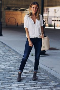 Lindsay Marcella - Fitcode denim - 7 For All Mankind
