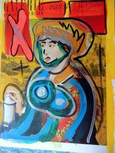 Alte Meister - Kunst - Pop art Malerei - direkt vom Künstler König