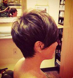 Brunette Pixie Hairstyles