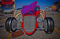 1933 Ford Roadster in HDR