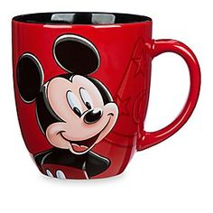 Mickey Mouse Portrait Mug - Walt Disney World | Disney StoreMickey Mouse Portrait Mug - Walt Disney World - Mickey's smiling face is the perfect pick me up, especially when combined with a refreshing drink. Images of Sorcerer Mickey's hat surround his portrait that graces this large cup that's a magical reminder of your visit to Walt Disney World.