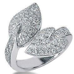 1.25 Karat Brillantring aus 585er Weißgold im Pavée-Style - http://www.diamantring.be/125-Karat-Brillantring-aus-585er-Weissgold-im-Pavee-Style