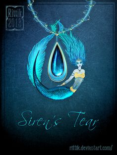 This amulet is given by mermaids and sirens to mortals. Mermaid amulets are given to the mortal loved ones of the Mermaid, and heal the user. Siren amulets create an overwhelming devotion in the wearer, and prolong their life while robbing them of all emotion other than love for the Siren.
