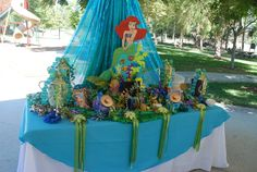 """Photo 2 of 29: Little Mermaid / Birthday """"Little Mermaid under the sea"""" 