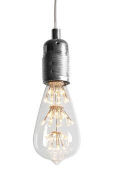 Ampoule LED 1910 / Décorative - E27 Transparent - Ferrowatt - Pop Corn