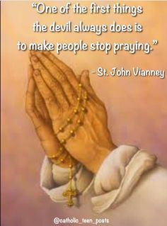 St. John Vianney quote