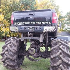 Mudding with lifted chevy truck - - Yahoo Image Search Results Lifted Chevy Trucks, Diesel Trucks, Custom Trucks, Cool Trucks, Pickup Trucks, Chevrolet Trucks, Mudding Trucks, Dodge Ram Diesel, 1957 Chevrolet
