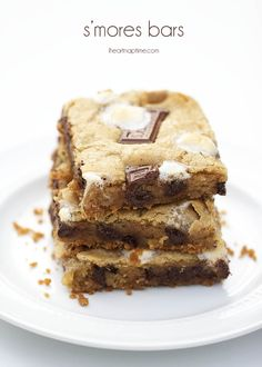 S'mores bars on iheartnaptime.com ...These are SO easy and literally heaven in your mouth! @Jamielyn {iheartnaptime.net}