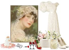"""THE BRIDE"" by louisevegasgirl ❤ liked on Polyvore"