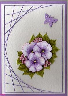 Bekijk de voorbeeldkaarten - Hobbyjournaal de hobby website Paper Embroidery, Stitching, Card Making, Website, Lady, How To Make, Embroidery, Paper, Costura