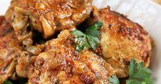 Pięknie pachnie, dobrze wygląda i pysznie smakuje - łatwy w przygotowaniu kurczak z patelni! Składniki : dowolne kawałki kurczaka -... Pork, Chicken, Dinners, Recipes, Kale Stir Fry, Dinner Parties, Food Dinners, Ripped Recipes