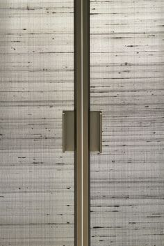SHERAZADE, sliding and swing doors collection, designed by Piero Lissoni Sliding Door Handles, Sliding Door Design, Sliding Glass Door, Sliding Doors, Wardrobe Door Designs, Wardrobe Doors, Door Dividers, Shutter Designs, Architecture Restaurant