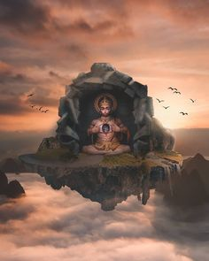 Futuristic And Dreamlike Photo Manipulations By Eashan Misra Hanuman Pics, Hanuman Images, Hanuman Chalisa, Durga, Lord Hanuman Wallpapers, Lord Shiva Hd Wallpaper, Shiv Ratri, 3d Video, Hindu Deities