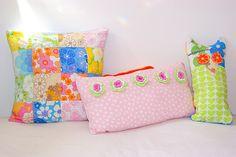 #vintage #floral #cushion