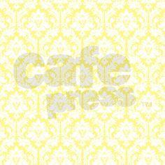Light Yellow Damask Shower Curtain on CafePress.com