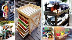 1-25 Belles chers palettes de stockage Projets de bricolage à réaliser avec facilité