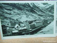 Canfranc Estacion. Antigua postal años 30 Huesca Poblado de Arañones - Foto 1