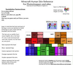 Pin minecraft skin template on pinterest pictures pinterest edit corrected instructions and tips template that goes along with the instructions these are the instructions on thi pronofoot35fo Choice Image