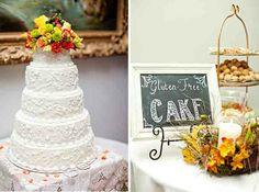 Wedding Cake Ideas Gluten Free #wedding #cakes