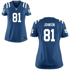 NFL Jersey's Women's Indianapolis Colts Trent Richardson Nike Royal Blue Game Jersey