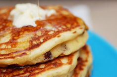 Maple Bacon Pancakes.