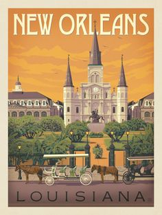 Anderson Design Group – American Travel – New Orleans: St. Louis Cathedral