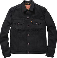 Levi's®/Supreme  Selvedge Denim Trucker Jacket  Custom Fit w/ Leopard Pile Lining