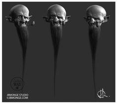 ArtStation - old beard, Jean-Baptiste Monge
