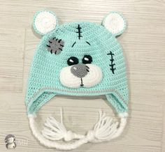 Crochet Baby Clothes, Crochet Baby Hats, Crochet Gifts, Crochet For Kids, Baby Knitting, Newborn Crochet Patterns, Baby Hat Patterns, Crochet Patterns Amigurumi, Crochet Animal Hats