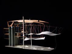 bartlett year 1 architecture veronique geiger, southwark circus school model patrick weber year 1 director