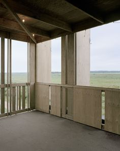 Image 5 of 37 from gallery of Skjern River Pump Stations / Johansen Skovsted Arkitekter. Photograph by Rasmus Norlander Architecture Details, Interior Architecture, Empty Spaces, Wooden House, Old Buildings, Cladding, Lodges, Denmark, Facade